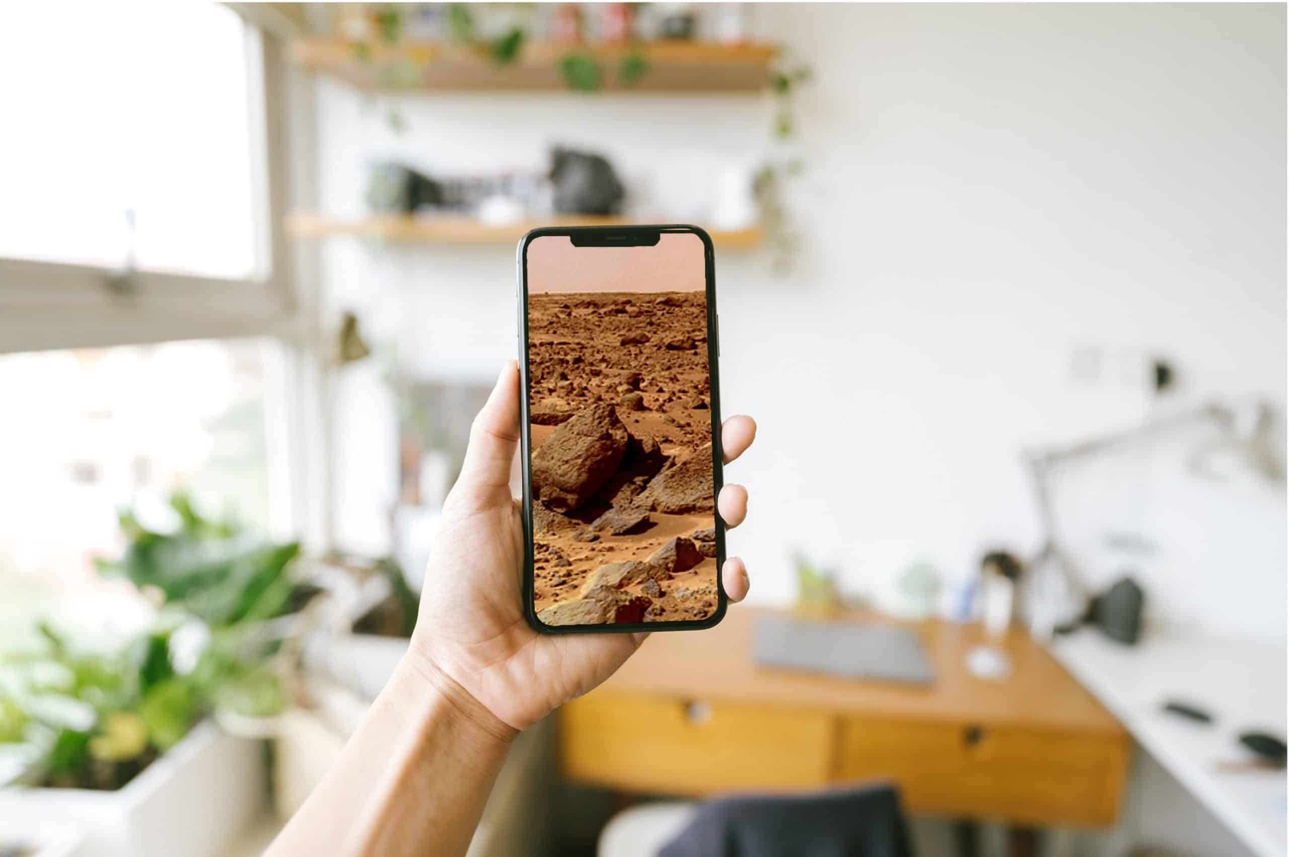 Land On Mars In Your Living Room With AR